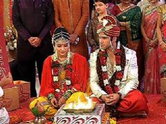 Arjun and Purvi's wedding in Pavitra Rishta