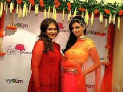 Roshni Chopra launches designer Ritu Seksaria's new collection 'Vyoum'