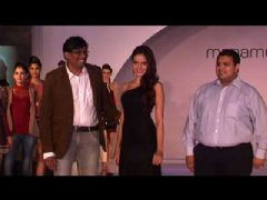 Shazahn Padamsee at Fashion Show of Label Madame at Hotel Lalit