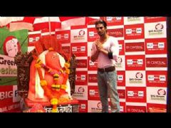 Prateik Babbar Visited Big Green Ganesh