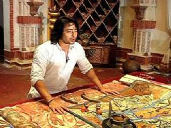 Arjun of Mahabharat takes us through the vast sets of Hastinapur, created for the show.