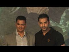 John Abraham during the launch of National Geographic (NGC) unlock campaign