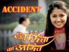 Chandni Bhagwanani met with an accident on the sets of Amita Ka Amit