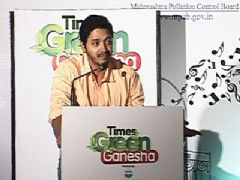 Shreyas Talpade at Times Green Ganesha Awards 2013