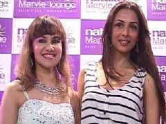 Malaika Arora Khan Launches Naturals Marvie Lounge