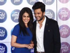 Genelia and Riteish Deshmukh Launch Ambi Pur's Refresh your Love campaign