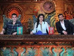Ranveer Singh on Comedy Circus Ke Mahabali to promote Ram Leela