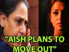 Souces say Aishwarya has plans to move out of the Bachchan residence with husband Abhishek