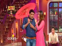 Kareena Kapoor And Imran Khan On the sets of Comedy Nights With Kapil!