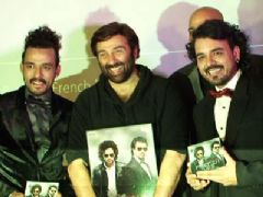 Sunny Deol At The Launch Of 'French Kiss' Pop Album