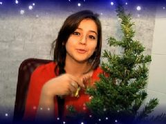Priyal Gor Christmas celebrates with india-forums.com