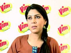Vim Bar Ad Making with Saakshi Tanwar