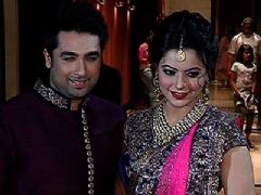 Aamna Sharif's wedding reception