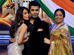 Karan,Malaika and Kirron Kher Are Back With India's Got Talent