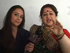 Anupriya came along on the sets of Sanskaar to meet her on screen mom from the show Tere Liye