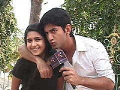 Kunal and Palak's off screen bonding