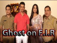 Mahi Gill and Sharman Joshi on the sets of FIR to promote Gang of Ghost