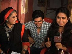 Pol Khol on the Sets of Sasural Simar Ka - Part 2