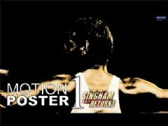 SINGHAM RETURNS | MOTION POSTER # 1
