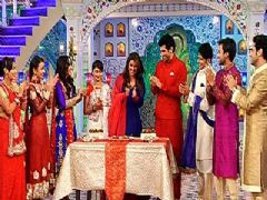 Eid celebrations on the sets of Qubool Hai with the team of Daawat E Ishq