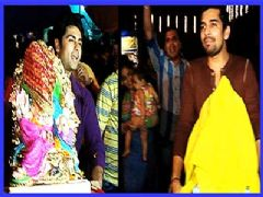 Vishal Singh And Ankit Gera Bring Home Lord Ganesha