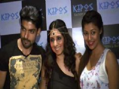 Tv Celebs At The Launch Of Greek Restaurant Kipos