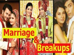 Marriage & Breakups Of 2014