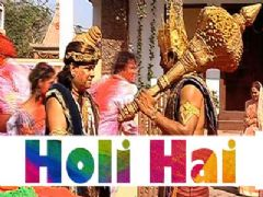 Holi Celebration On The Sets Of Yum Hai Hum