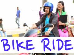 Dev Takes Payal For A Bike Ride