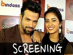 Special Screening Of Rithvik and Asha's Yeh hai Ashiqui Episode
