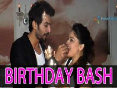 Jay Bhanushali Throws a Birthday Bash for Mahi