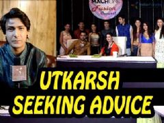 Utkarsh Gupta seeking advice from Emraan Hashmi