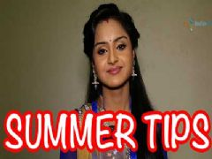 Ishita Ganguly shares some quick summer tips