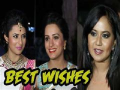 TV celebs giving best wishes to Karan and Ankita