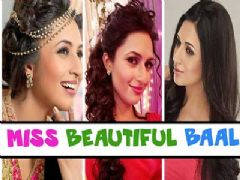 Divyanka Tripathi's different hairstyles