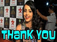 Shrenu Parikh Thanks Her Fans
