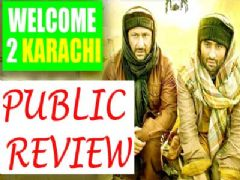 Public review of Welcome 2 Karachi
