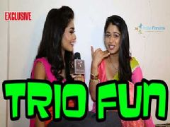 The trio Sreejita De, Chandani Bhagwanani and Dimple janghiani speaks about their bond - Part 01