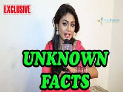 Sreejita De shares her 11 not known facts