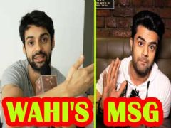 Karan Wahi's message for Manish Paul