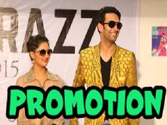 Nach Baliye 7 finalists, Nandish Sandhu and Rashmi Desai at Mithibai College