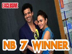 Amruta Khanvilkar and Himanshu Malhotra talking about winning Nach Baliye 7