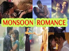 TV celebs romance in the rains