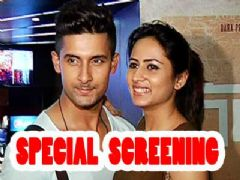 TV celebs at the screening of Sargun Mehta's film Angrej