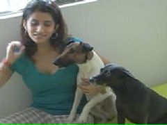Smily Suri's Love For Dog's !