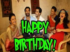 Devoleena Bhattacharjee celebrates her birthday with Co-Stars