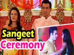 Neil and Ragini's sangeet ceremony