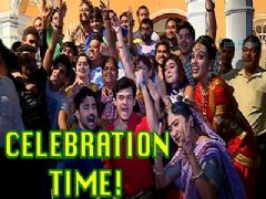 Celebration on the sets of Sasural Simar Ka?