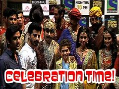 Maharana Pratap team celebrates 500 episodes