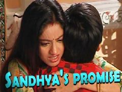 What did Sandhya promise Ved?